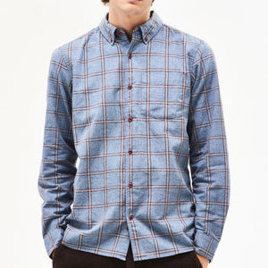 "NWT Hurley Plaid Flannel ""Towns"" Button Down"
